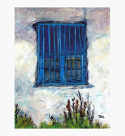 Greek Facade Photographic Print