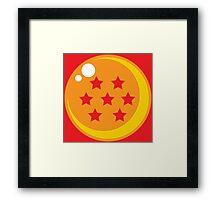Dragon Ball Seven Framed Print
