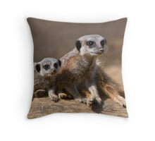 Watch with Mother Throw Pillow