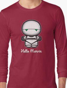 Hello Marvin Long Sleeve T-Shirt