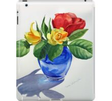 Red Yellow Green and Blue iPad Case/Skin