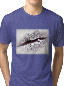 Pearly Lips - Tee Tri-blend T-Shirt