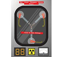 The Flux Capacitor Photographic Print