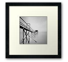 Cabane d'Atlantique Framed Print