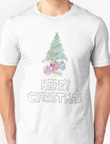 merry christmas sparkle  Unisex T-Shirt