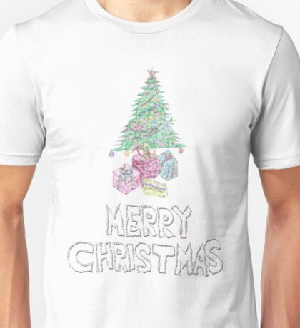 merry christmas sparkle  Unisex T-Shirt