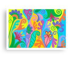 FANTASY FLOWERS 03 Canvas Print