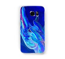 American Sign Language - Jesus - in Blue Samsung Galaxy Case/Skin