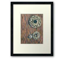 Vikingsholm Keyhole Framed Print