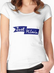 Just McLovin Women's Fitted Scoop T-Shirt