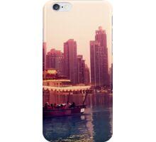 Dubai twilight river cruise iPhone Case/Skin