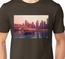 Dubai twilight river cruise Unisex T-Shirt