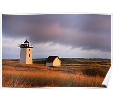 Wood End Lighthouse Landscape Poster