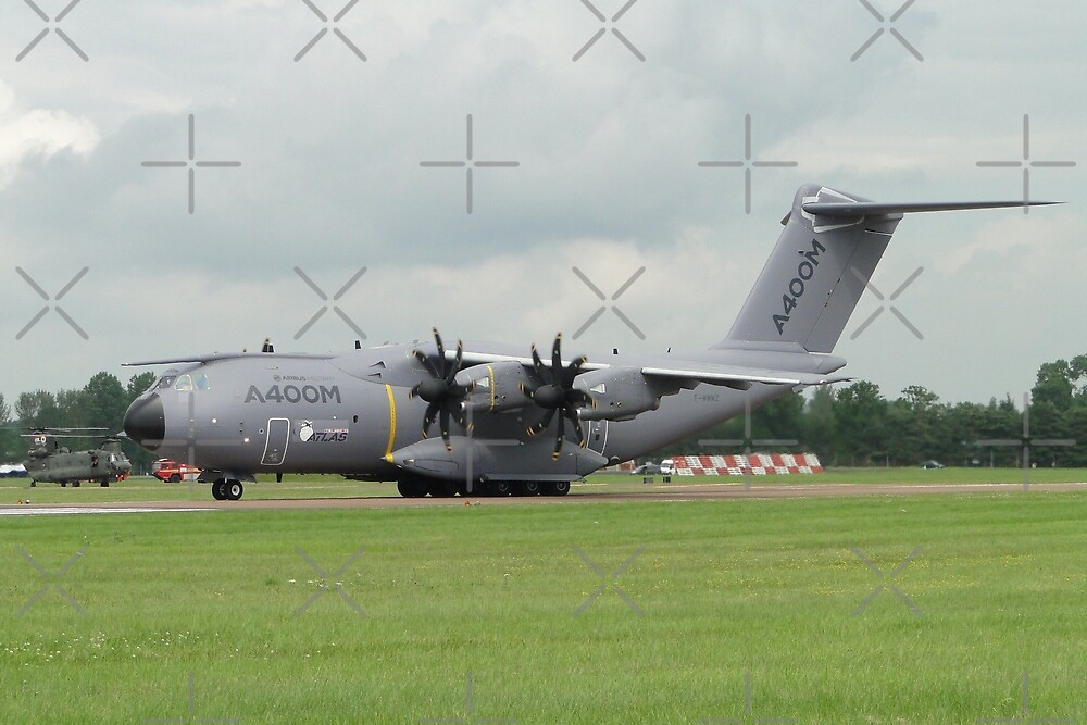 Airbus A400M F-WWMZ by Barrie Woodward