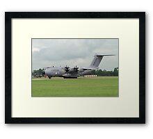 Airbus A400M F-WWMZ Framed Print