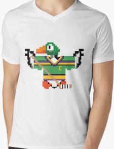 Mighty Duck Hunt Mens V-Neck T-Shirt