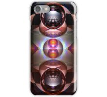 Curved Reflections IV iPhone Case/Skin