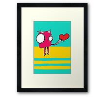 To love or not to love... Framed Print