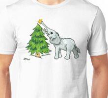 2013 Holiday ATC 11 - Christmas Tree and Elephant Unisex T-Shirt