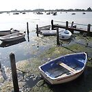 Blue Boats at Bosham by Brunoboy