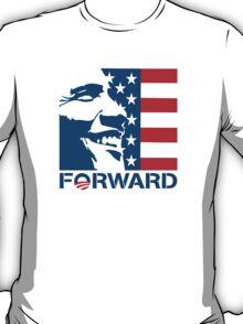 Obama Forward 2012 Flag Shirt T-Shirt