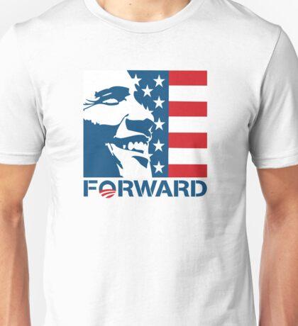 Obama Forward 2012 Flag Shirt Unisex T-Shirt