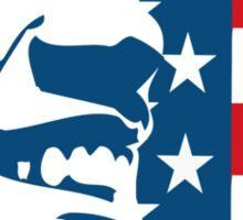 Obama Forward 2012 Flag Shirt Sticker