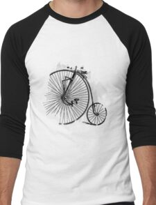 Vintage Bycicle Race Men's Baseball ¾ T-Shirt