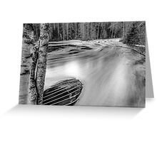 River one Greeting Card
