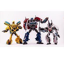 Autobots Photographic Print