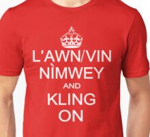 Keep Calm and Kling On Unisex T-Shirt