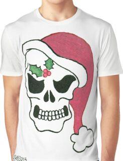 2013 Holiday ATC 10 - Santa Skull Graphic T-Shirt