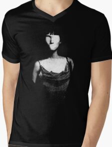 sad girl Mens V-Neck T-Shirt