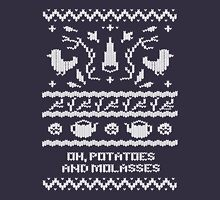 Over The Garden Wall - Knitted Pattern Unisex T-Shirt