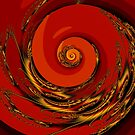Red Spiral by Rupert Russell