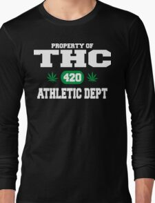Cannabis THC Athletic Dept Long Sleeve T-Shirt