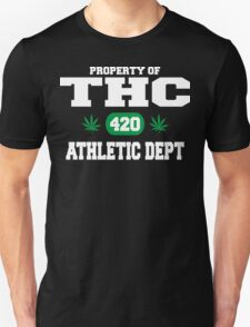 Cannabis THC Athletic Dept Unisex T-Shirt