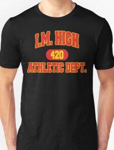 "Funny ""I. M. HIGH"" Marijuana T-Shirt"