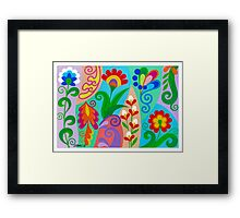 ROMANTIC ABSTRACT 05 Framed Print