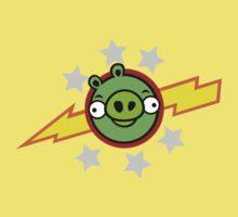 Angry Birds Pigs in Space Kids Tee