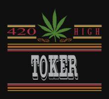 Cannabis Toker by MarijuanaTshirt
