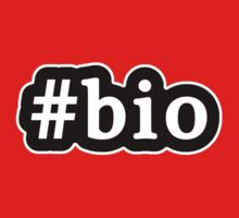 Bio - Hashtag - Black & White Kids Tee