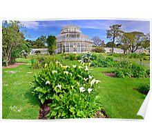 Botanical House & Gardens Poster
