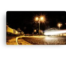 Cars Hiss By Canvas Print