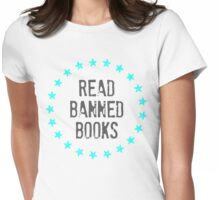Read Banned Books Womens Fitted T-Shirt
