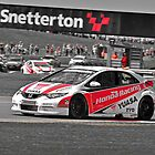 honda civic at snetterton by gwebb