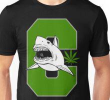 Great White Shark Cannabis Unisex T-Shirt