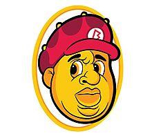 Biggie Smalls - Mario Photographic Print
