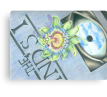 Passiflora on a Copy of the Mind's Eye Canvas Print
