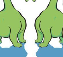Dino Love Sticker